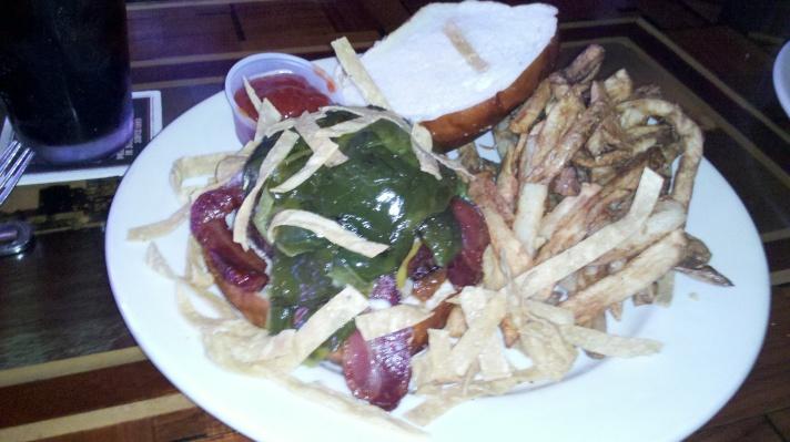 Pantera Burger at Kuma's Corner